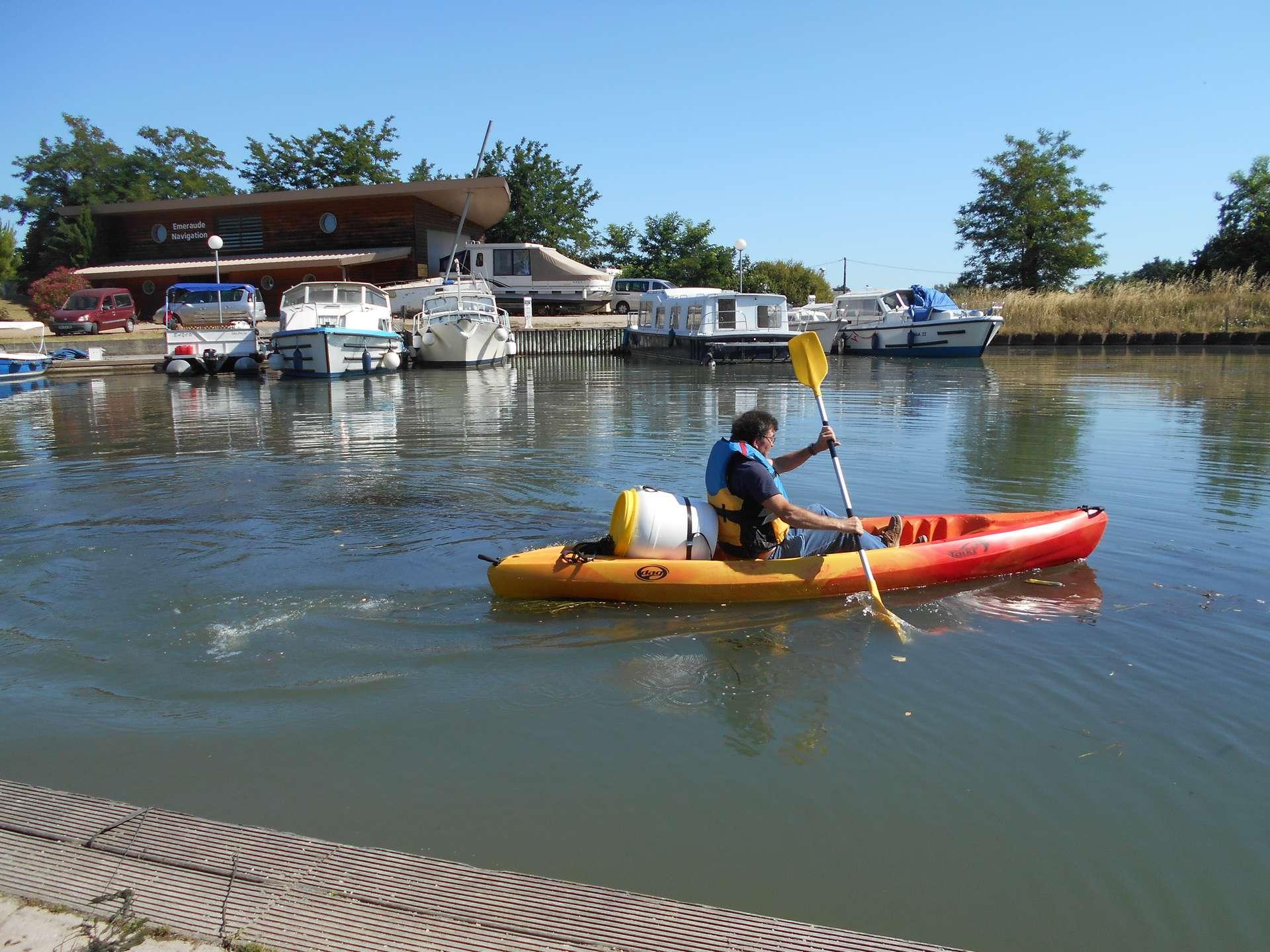 location kayak randonée eau douce