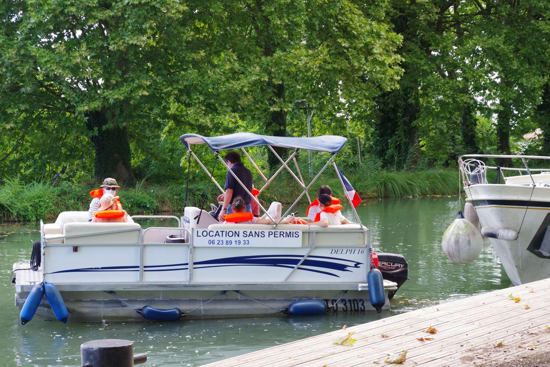 initiation au pilotage de bateau thermique