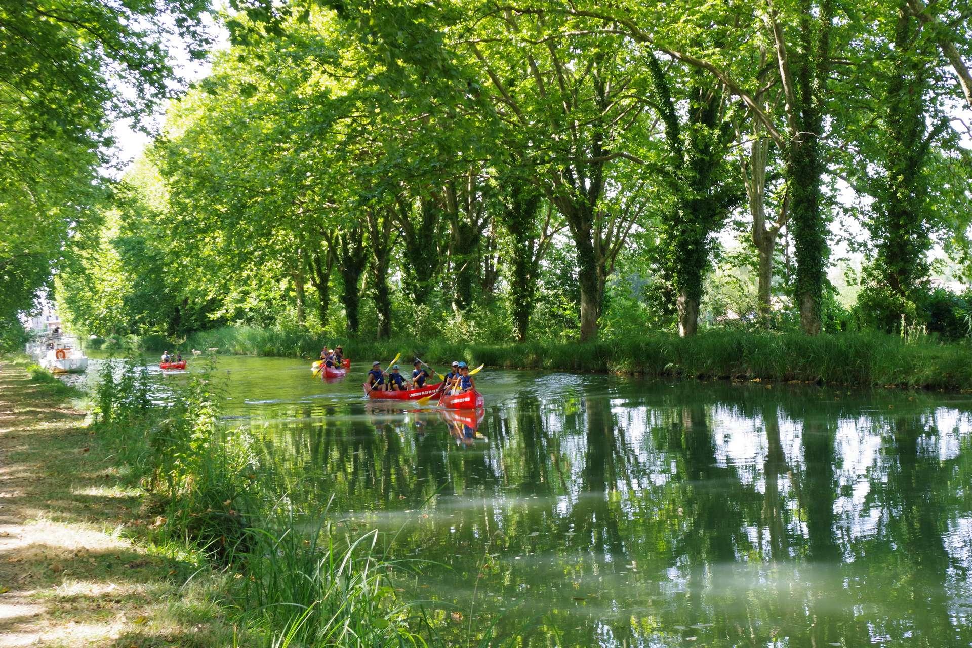 journee canoe en famille