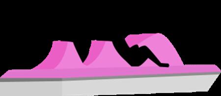 pedalo lac de casteljaloux