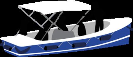 bateau location scoop ruban bleu